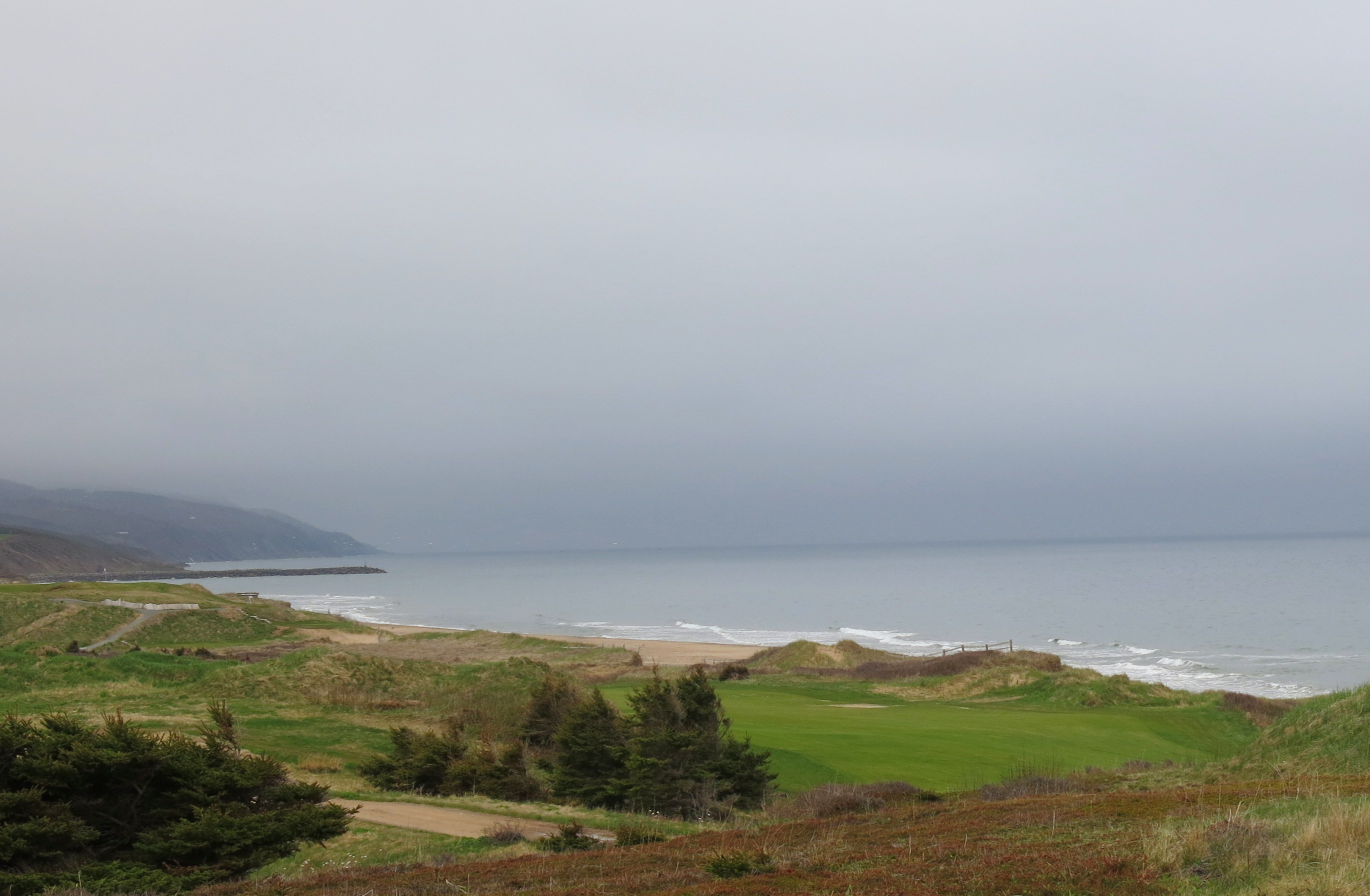 Cabot Links and next-door Cabot Cliffs are two of the top golf courses in Canada. Both are located on Cape Breton. JIM BYERS PHOTO