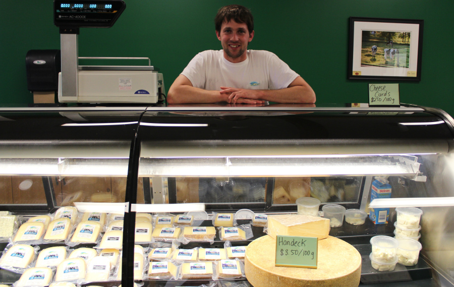 Shep Ysselstein and his family make fabulous cheeses at Gunn's Hill, south of Woodstock. TOURISM OXFORD PHOTO