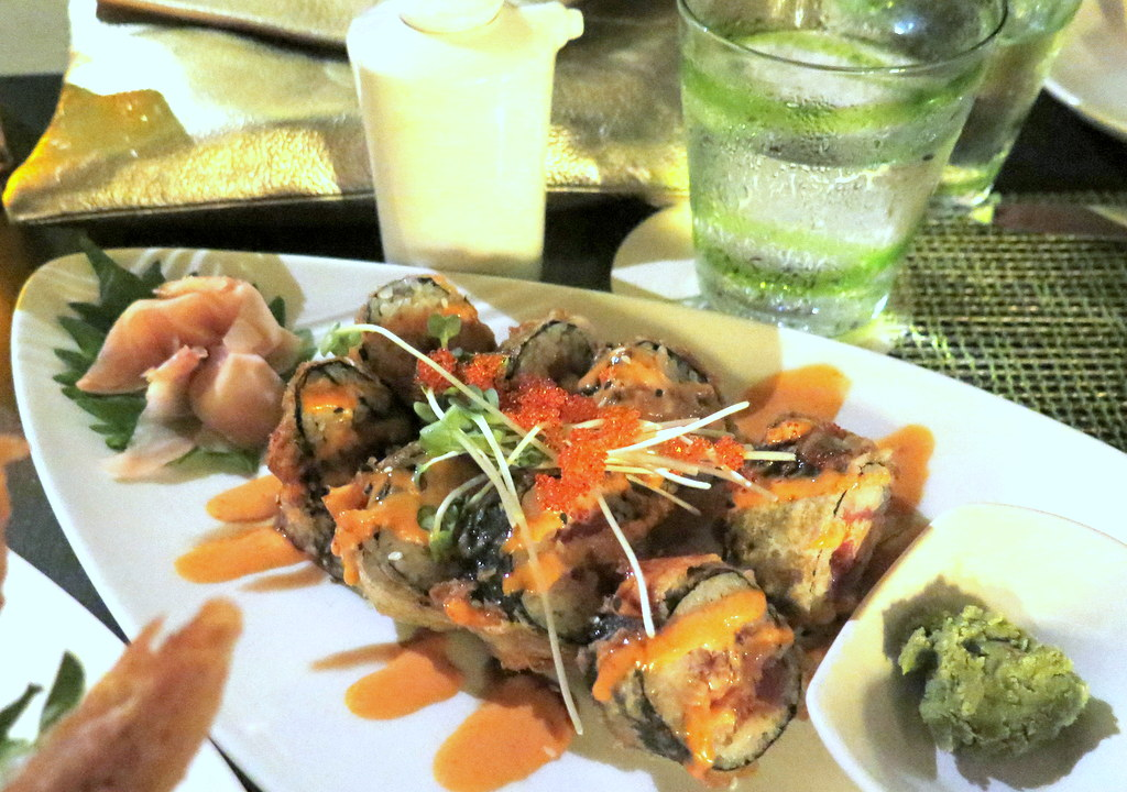 Ko, a beautiful restaurarant at the Fairmont Kea Lani, serves some of the best sushi you'll ever try.