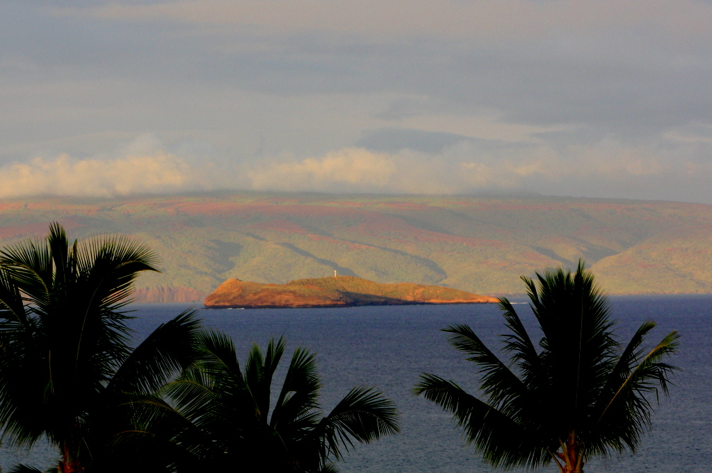 You might get a fabulous view of the Molokini crater and the island of Kahoolawe from your patio or lanai at the Fairmont Kea Lani.