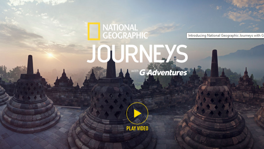 Canada's G Adventures hooks up with National Geographic