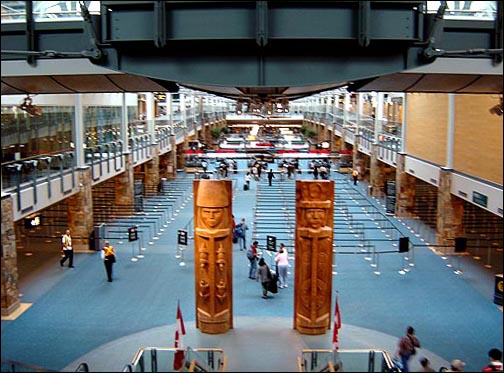 Vancouver International Airport is one of the top-rated facilities in North America. I've always enjoyed my visits.