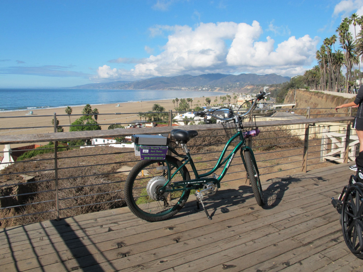 Try a bike tour of lovely Santa Monica when you're in the L.A. area. - JIM BYERS PHOTO