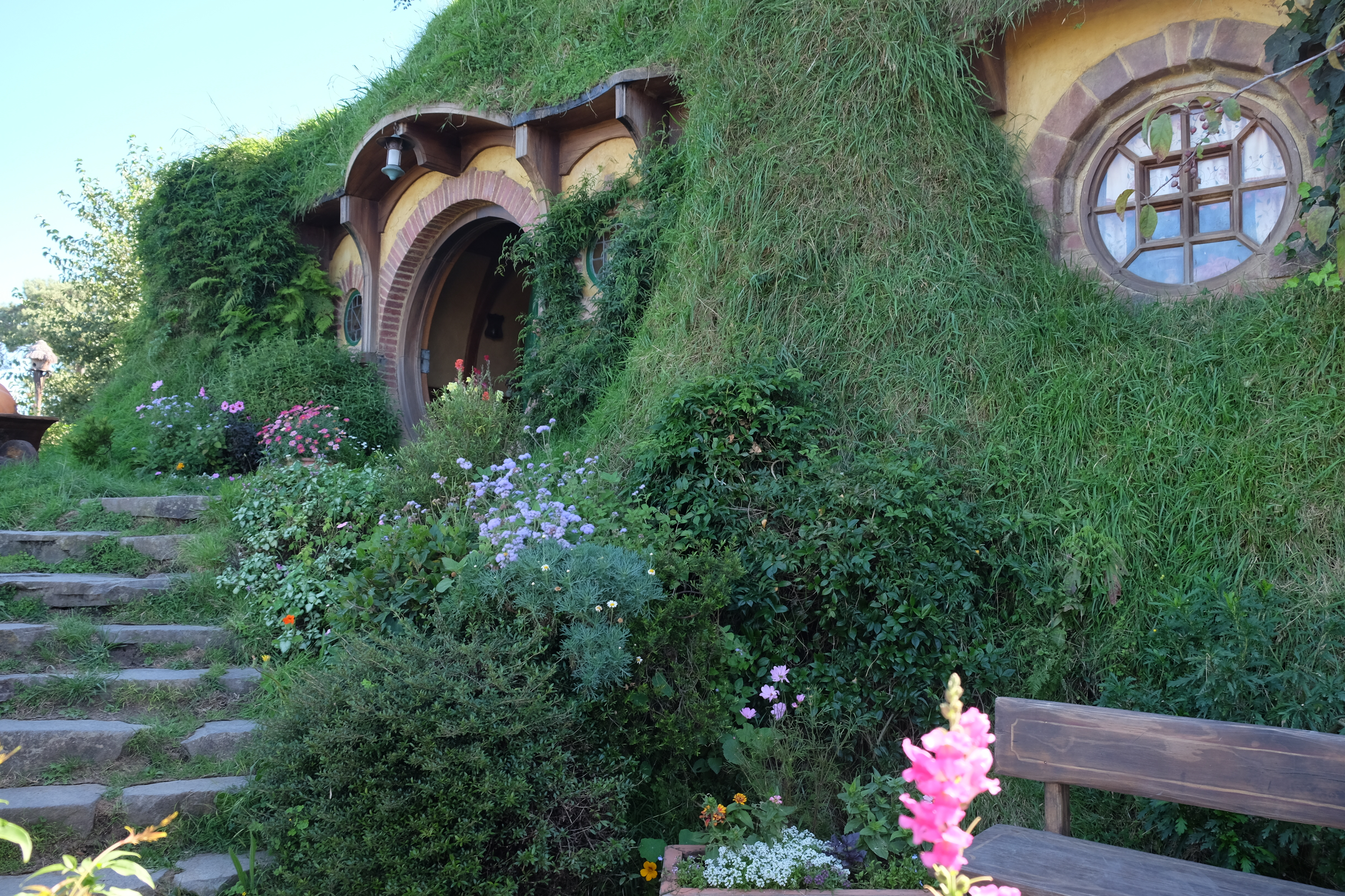 Bilbo Baggins' house at Bag End in Hobbiton. - JIM BYERS PHOTO