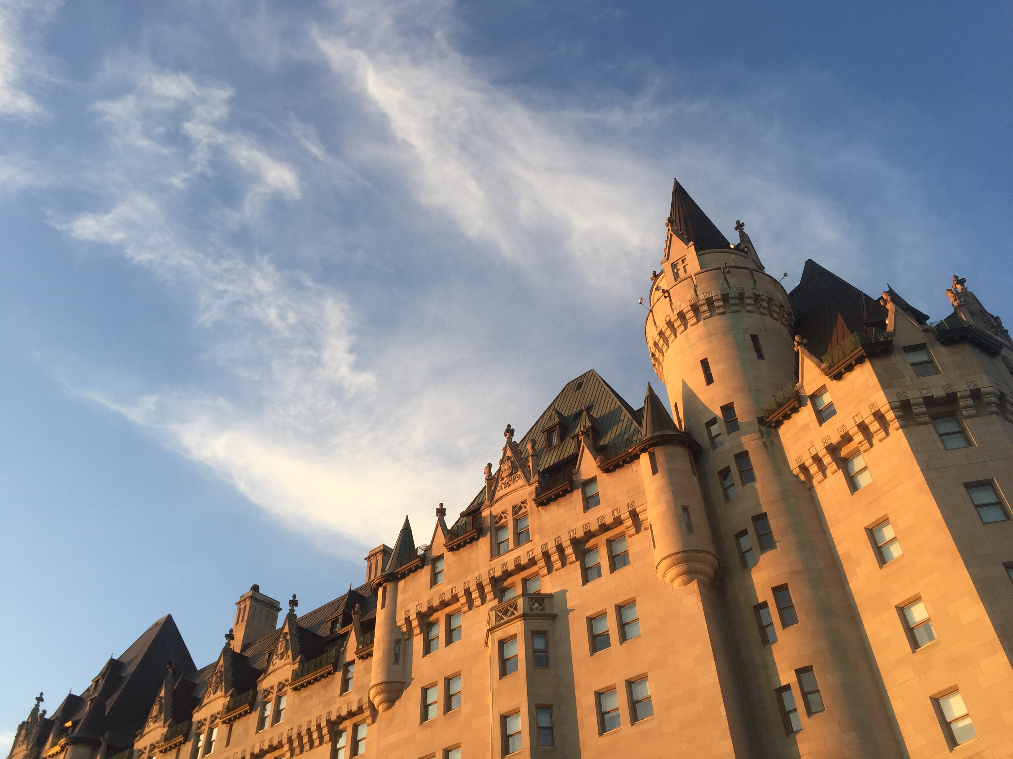 The Fairmont Chateau Laurier is one of the great hotels of Canada. JIM BYERS PHOTO