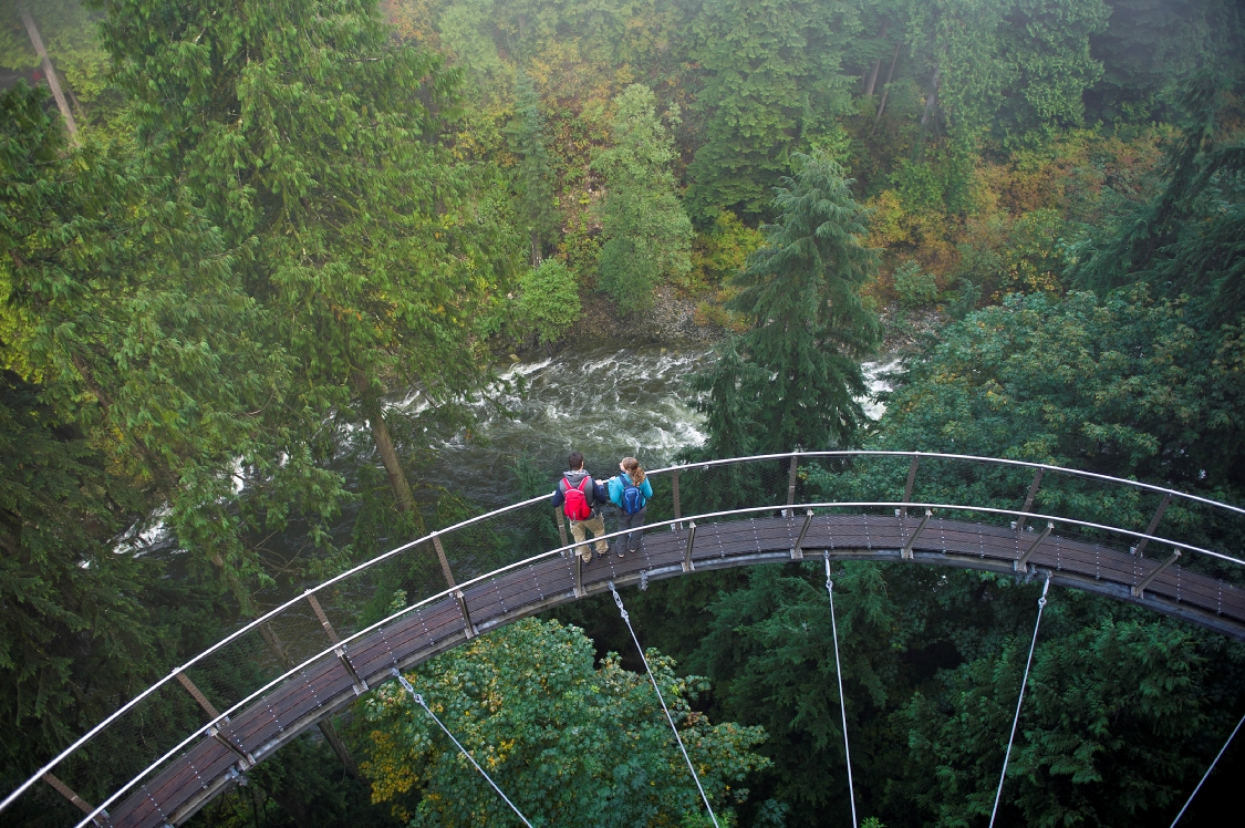 The Cliff Walk is a great attraction at the Capilano Suspension Bridge in North Vancouver. PHOTO COURTESY DESTINATION CANADA