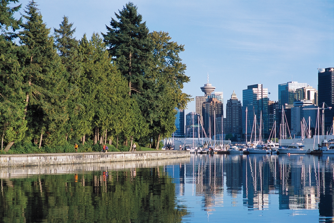 Stanley Park might be the world's best urban park. PHOTO COURTESY DESTINATION BC AND ALBERT NORMANDIN