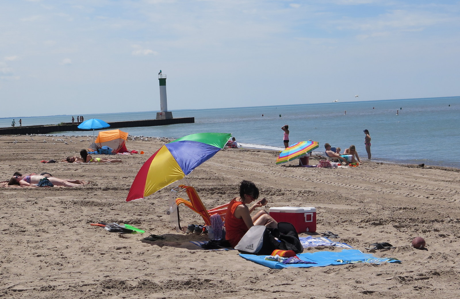 The beach at Grand Bend is excellent. The town might be even better; with a great surf town vibe and fun places to shop and eat. JIM BYERS PHOTO