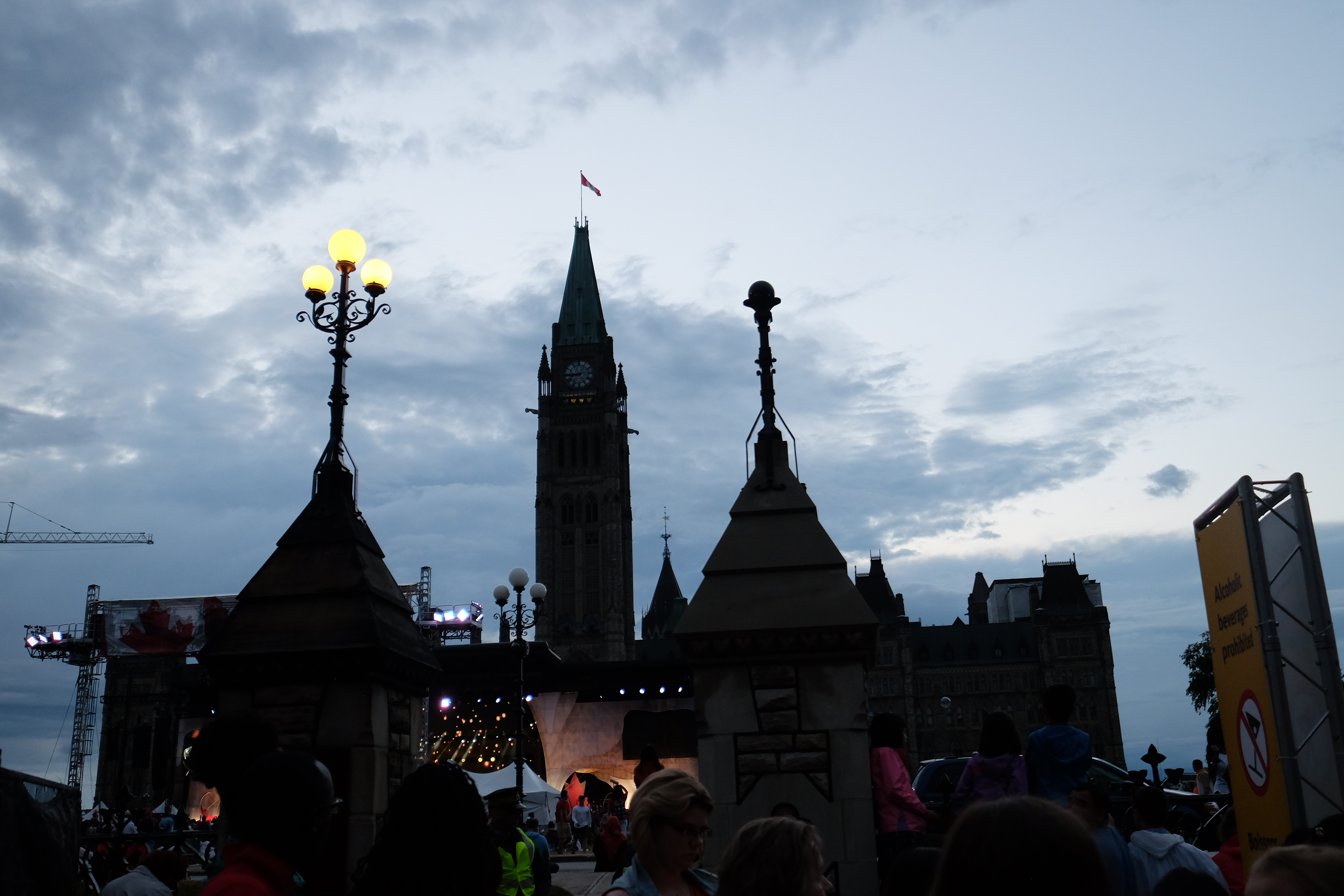 Top-notch performers play afternoon and evening sets on Parliament Hill for Canada Day. This year's lineup included Metric, Alex Cuba and Couer de Pirate.