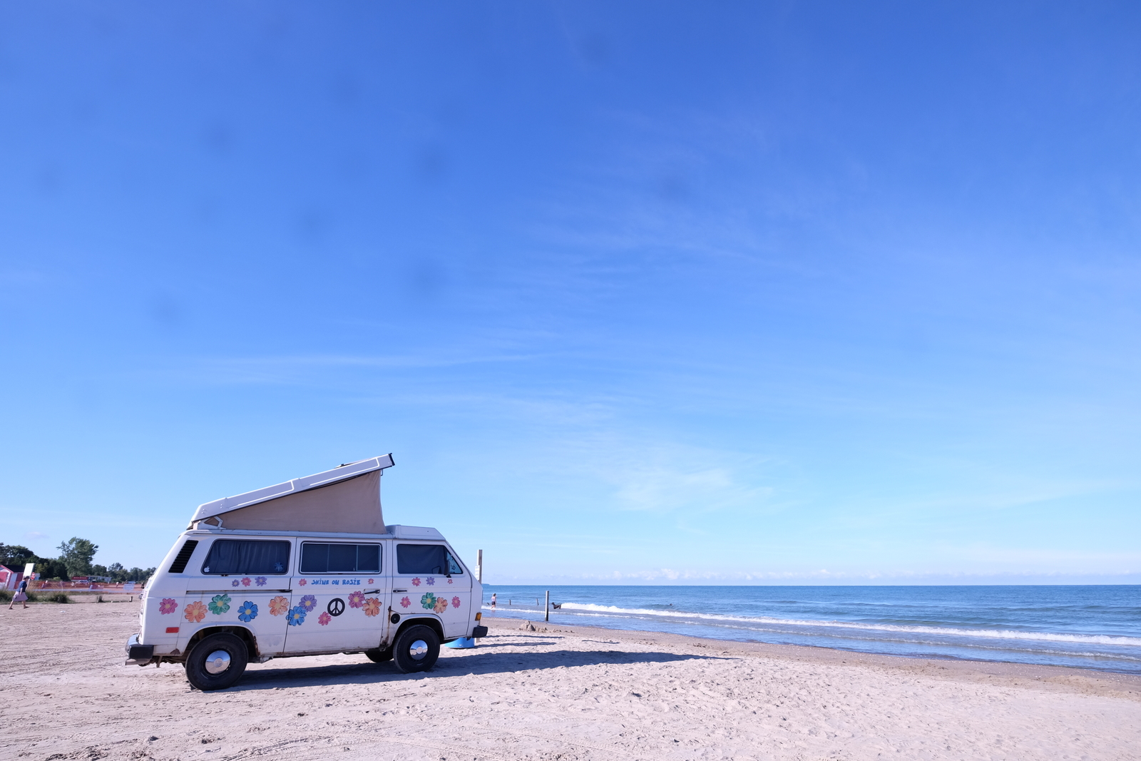 Sauble Beach is a short drive from Lion's Head and also from Owen Sound. It's one of the great beaches of Canada, even if you don't own a cool VW van. JIM BYERS PHOTO