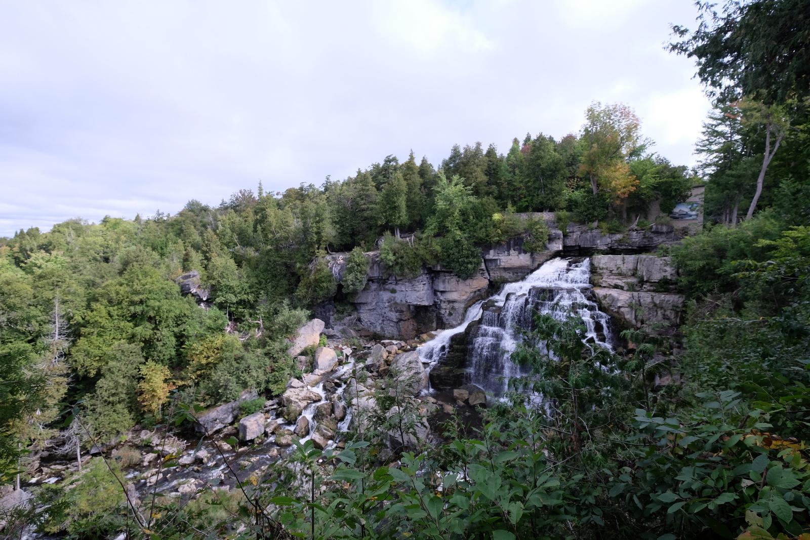 Sensational Inglis Falls in Owen Sound, Ontario. - JIM BYERS PHOTO