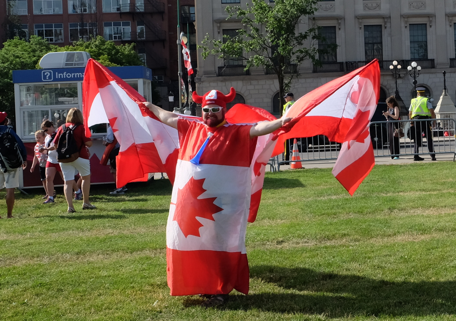 Canada Day brings out the patriot in many of us. Some more than others, of course. - JIM BYERS PHOTO