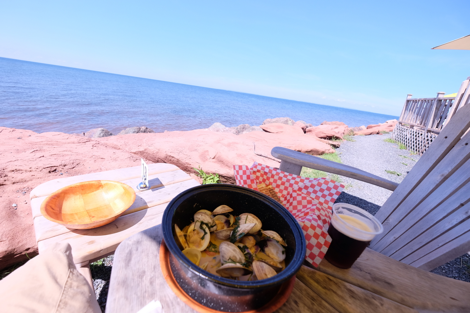 Point Prim serves up lovely chowder in a beautiful PEI setting. - JIM BYERS PHOTO