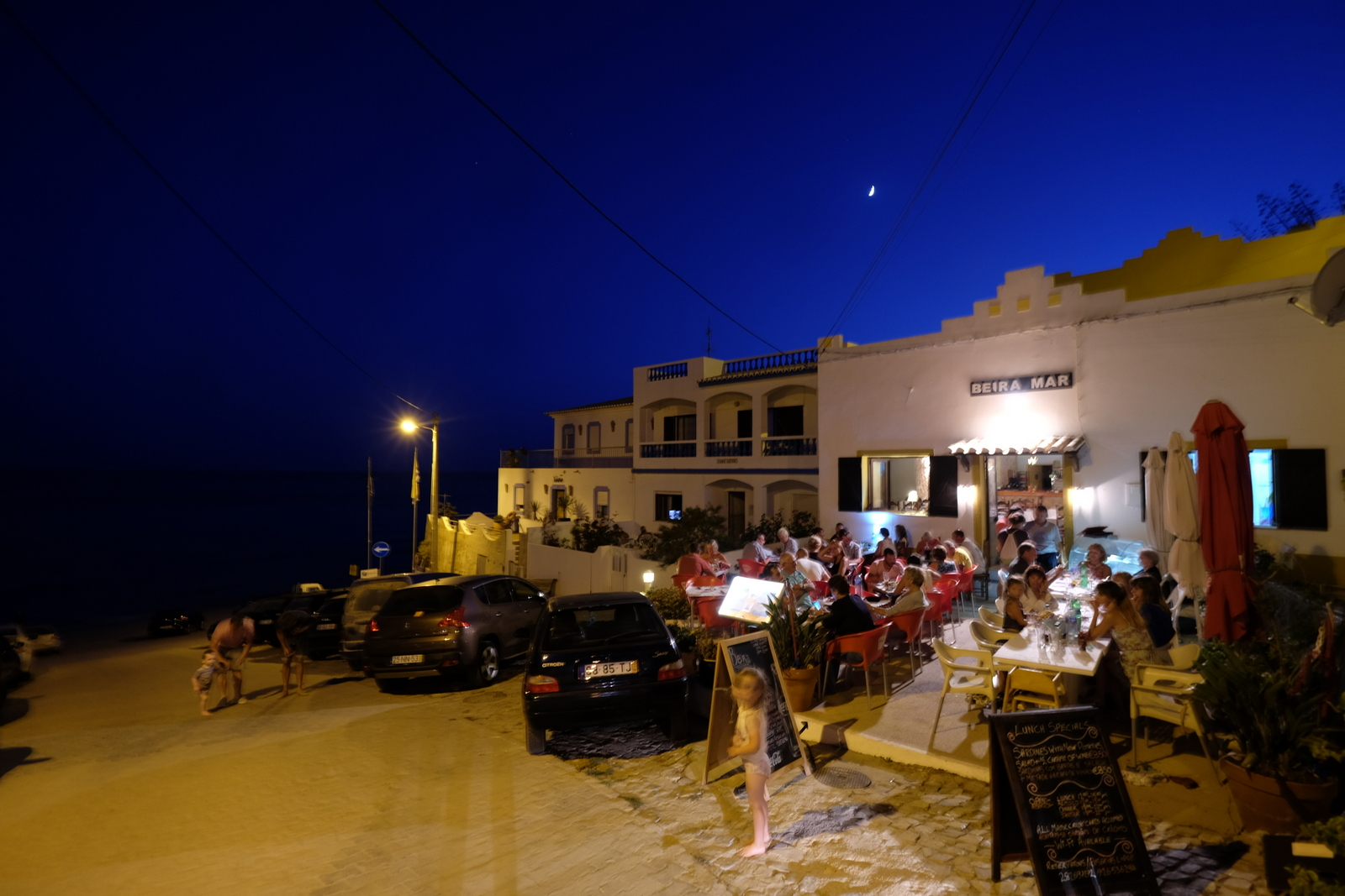 Beira Mar is a lively spot in Burgau, Portugal that serves great, fresh seafood. - JIM BYERS PHOTO