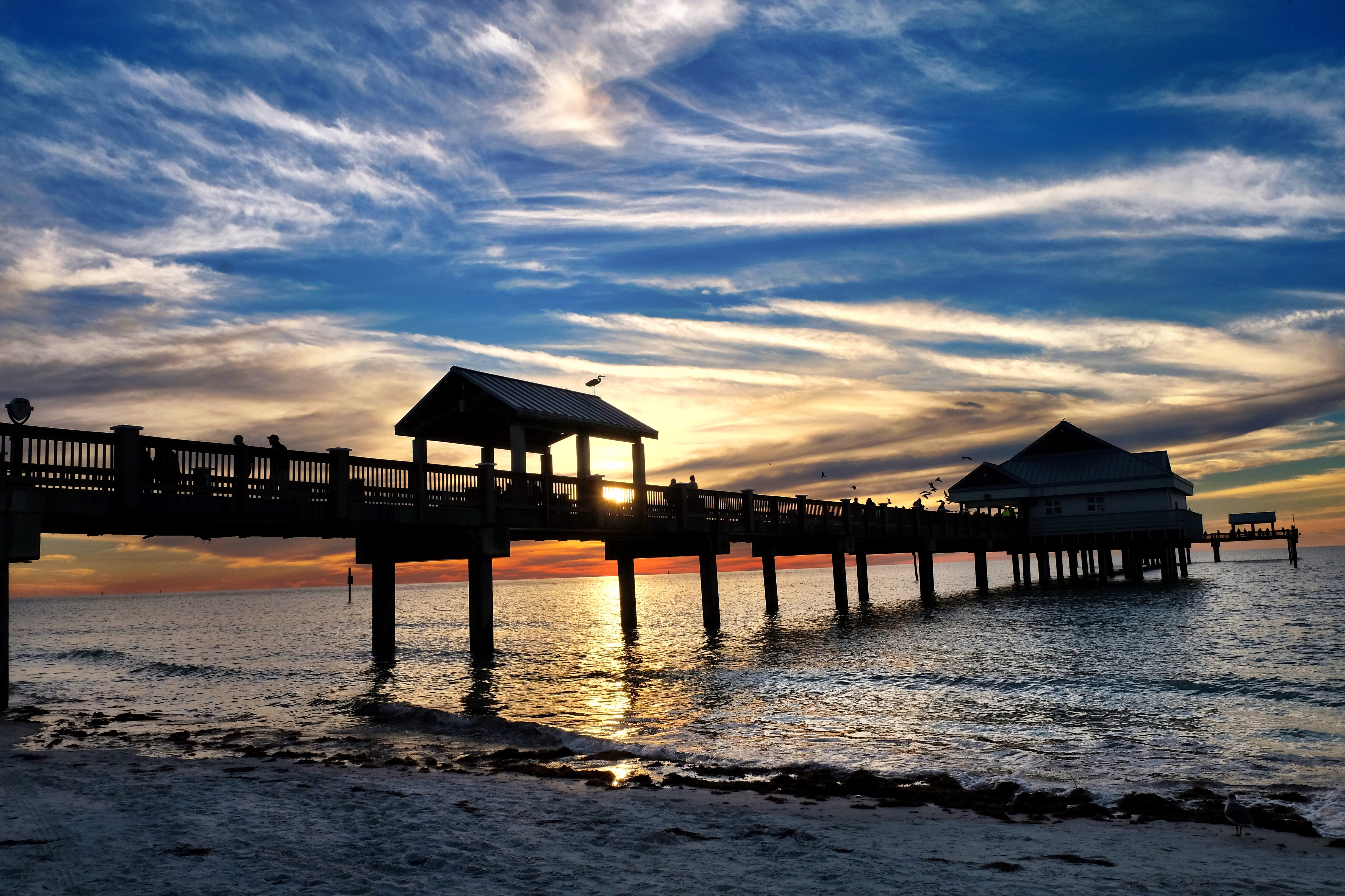 Sunsets are almost always great at Clearwater Beach. This one turned out a little better than most. - JIM BYERS PHOTO