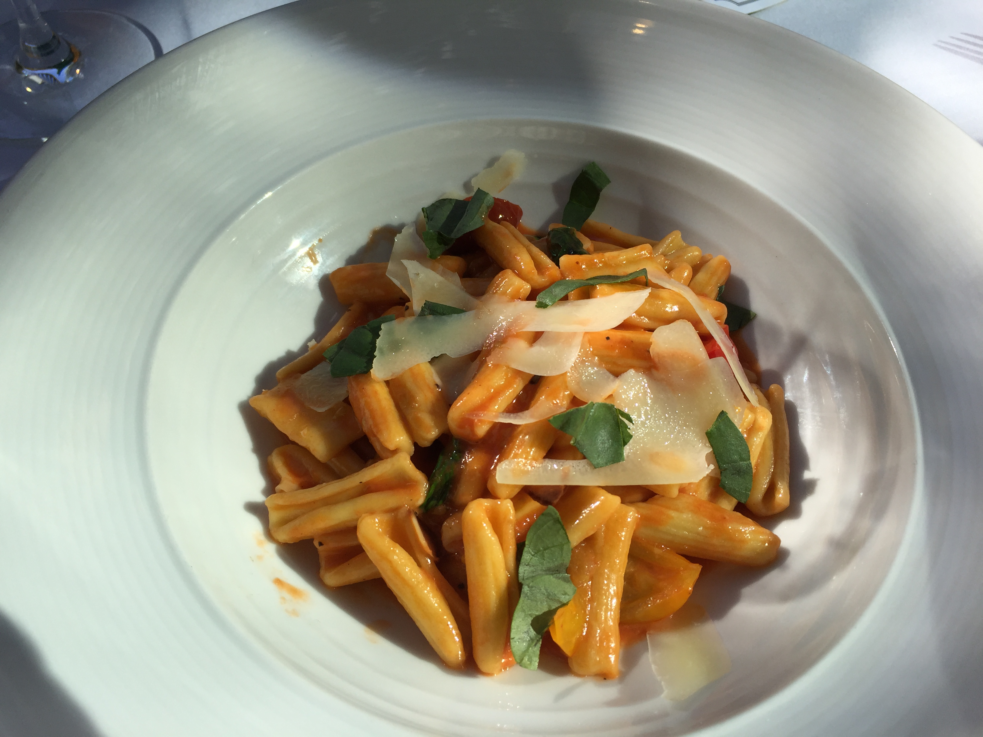 Andiron serves a lovely, simple pasta as well as some wildly inventive dishes in Summerlin, Nevada. - JIM BYERS PHOTO