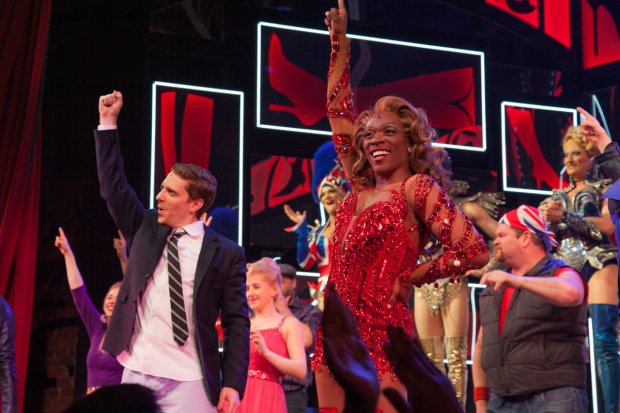 Alan Mingo is a hugely talented actor who plays in the Broadway production of Kinky Boots.