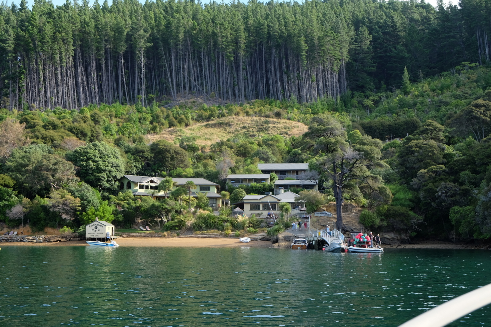 Lochmara Lodge is a quiet, tranquil spot near Picton, New Zealand. - JIM BYERS PHOTO