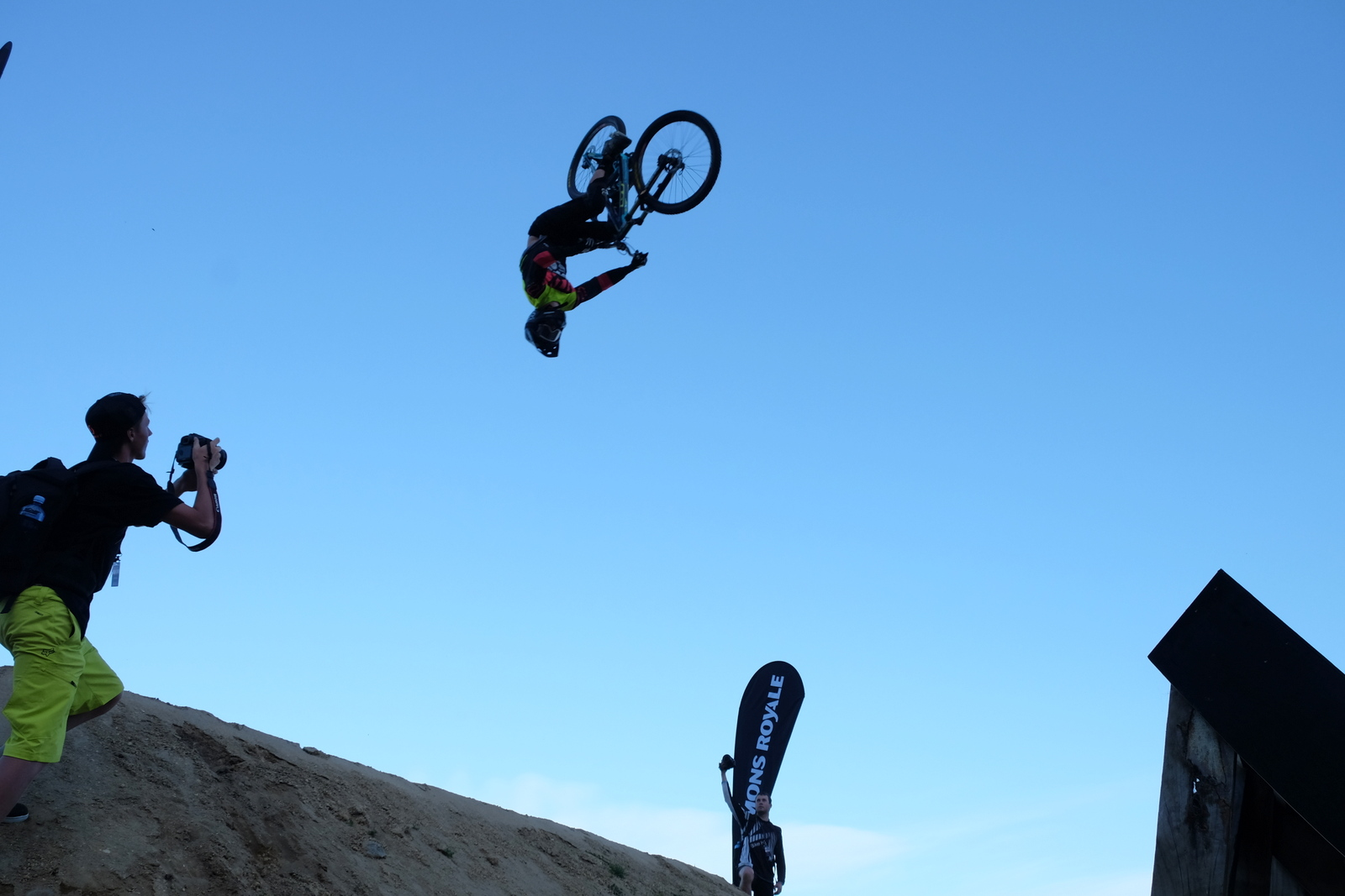 Crankworx is an awesome cycling spectacle. - JIM BYERS PHOTO
