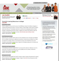 Photo: ColRiC website screen shot.