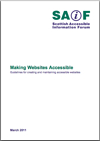 Photo: Making Websites Accessible 3rd Edition.