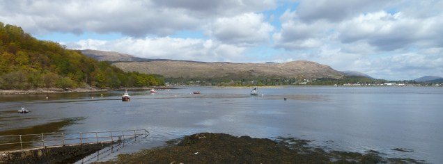 Bay Fort William, Loch Linnhe, Scotland lochs, travel Scotland, bike Scotland, Scottish travel