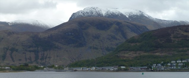 Ben Nevis, Bay Fort William, Loch Linnhe, Scotland lochs, travel Scotland, bike Scotland, Scottish travel