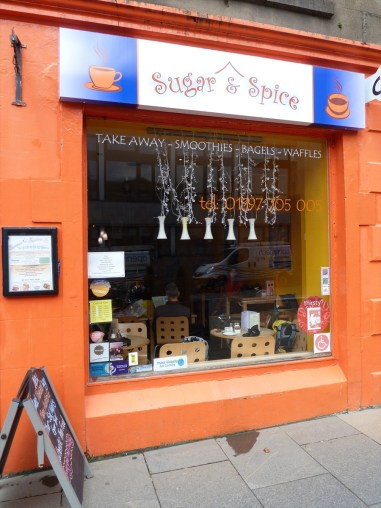 Sugar & Spice Cafe, High Street, Fort William Scotand
