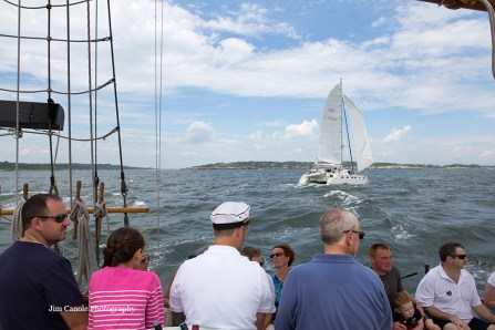 Jim Canole-Setting Sail In Newport 4
