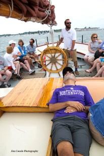 Jim Canole-Setting Sail In Newport 8