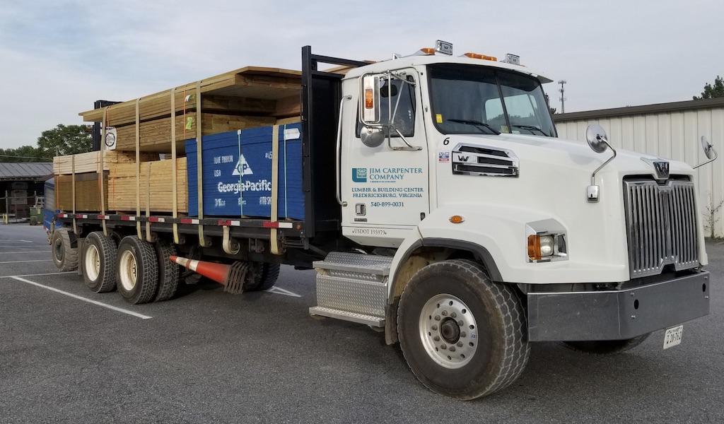 Jim Carpenter Truck