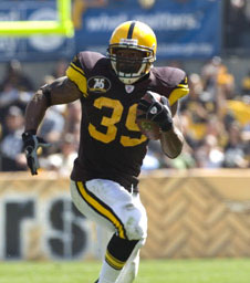 Willie Parker in Bill Game (Throwback Jersey)