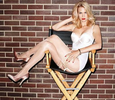 January Jones in GQ