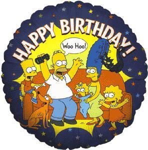 Happy Birthday Simpsons