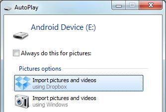 Dropbox Import