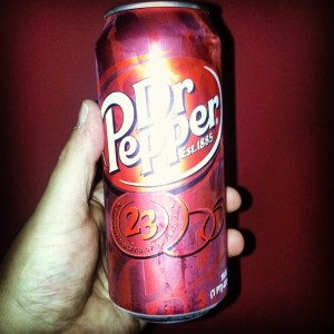 Dr Pepper tall boys? Sign me up!
