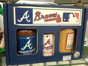 Braves Nacho Gift Set