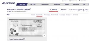 USPS Informed Delivery