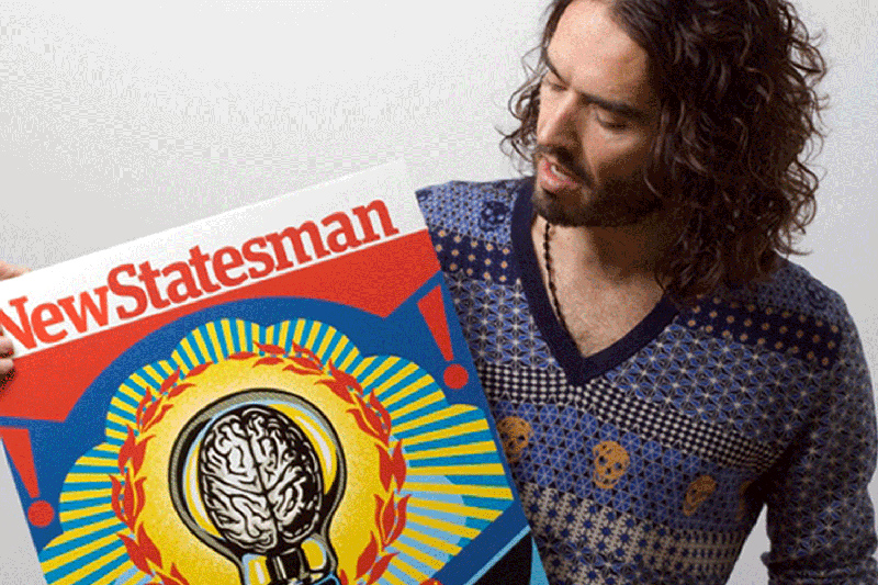 Russell Brand in New Statesman