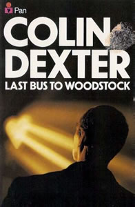 Last Bus To Woodstock/ Colin Dexter Book