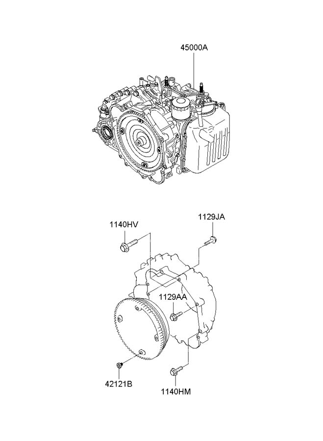 Service manual [2008 Hyundai Elantra Transmission Service