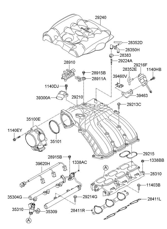 Hyundai Entourage Oxygen Sensor Diagram, Hyundai, Free