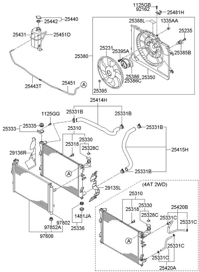 Hyundai Elantra COOLING SYSTEM