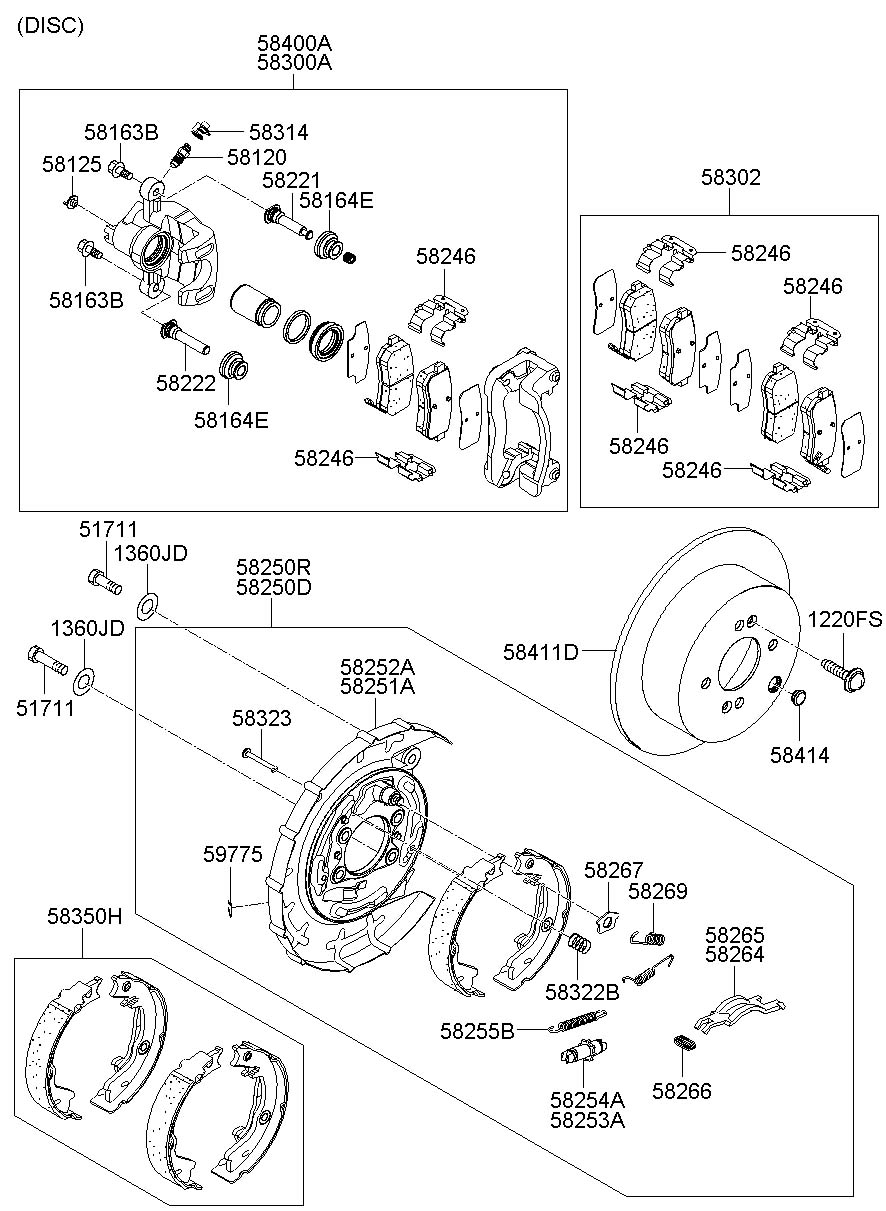 Service manual [2008 Hyundai Accent Rear Differential Axle