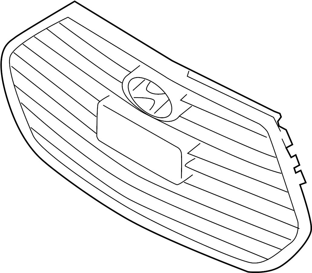 Hyundai Veloster Grille