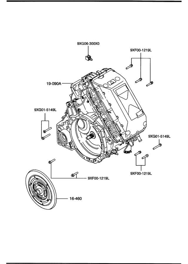 Mazda Tribute AUTOMATIC TRANSMISSION TORQUE CONVERTER, OIL