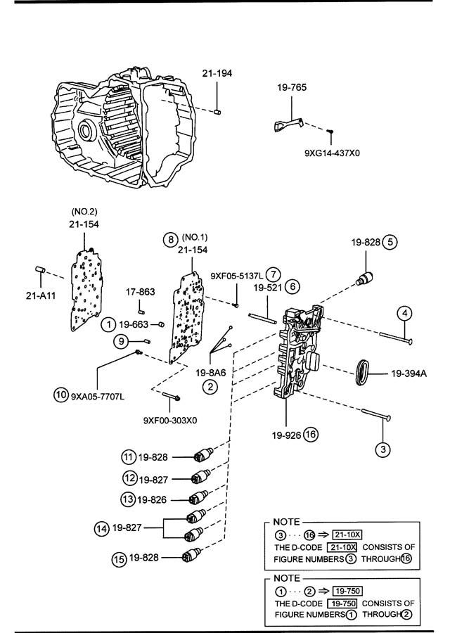 Service manual [Transmission Control 1996 Mazda B Series