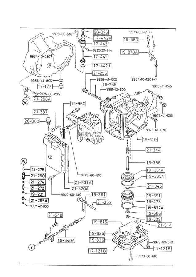 Service manual [Transmission Control 1987 Mazda Familia