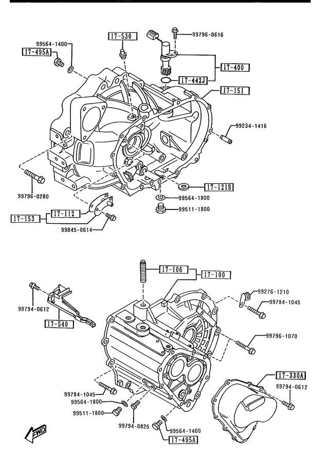 M V: MAZDA AUTO TRANSMISSION FLUID M-V / ATF 4 Liter