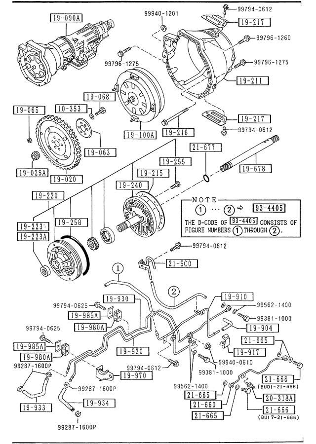 Mazda Miata AUTOMATIC TRANSMISSION TORQUE CONVERTER, OIL